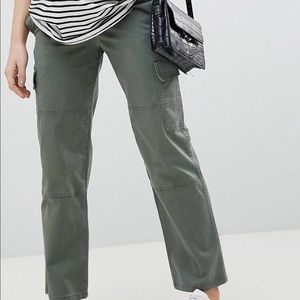 Maternity straight pants